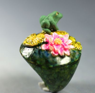 Kermit chez Monet