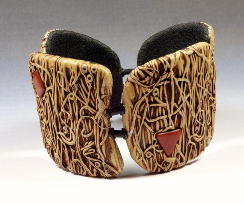 Bracelet organique inspiré par celui de B. Welker